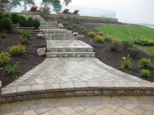 retaining walls flint mi